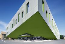 Educational Architecture / Our buildings, dedicated to education.  We are www.cross-architecture.net