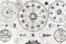 Vintage maps & astronomy schemes