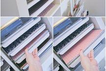 Craft Room | Bastelzimmer Organisation