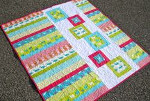 Quilting - flying geese & squares
