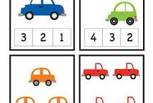 pictograme cifre autism