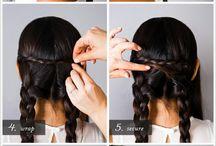 Hairstyles / by Jennifer Carroll @ Celebrating Everyday Life