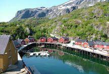 Reise - places to visit / Ønskemål for fremtiden