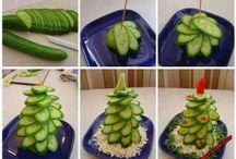 Obst -und Gemüsedeko