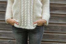 pulovre štrikovane