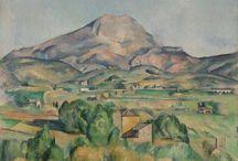 Cézanne - La montagne Sainte Victoire