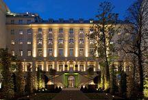 Kempinski Hotel, Prague Czech Republic / Interior and Exterior Lighting Design