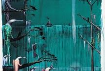 Aoteroa art by Bill Hammond