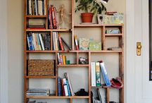 Spare room cheap shelving