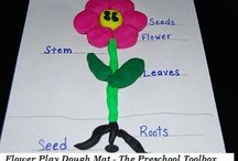Spring and Spring Weather Theme for Preschool and Kindergarten / Playful Learning Activities centered around a SPRING or SPRING WEATHER THEME in Preschool and Kindergarten