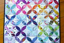 Rainbow Quilts / Inspiration for the Rainbow Mini Quilt Swap