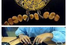 kunst met pitten en zaden