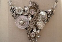 Re purposed Vintage jewelry  / by Theresa Carter