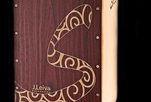 Cajons / The finest, handmade professional Cajons. Playing on the spot or on the go, players unlimited freedom