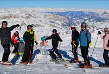 New Year Skiing in the Dolomites