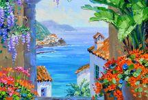 Greece panoramic