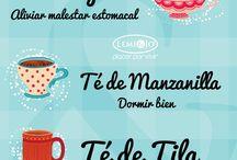 diferentes té