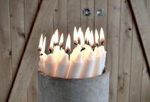 """A la lumière d'une bougie / """"On peut répandre la lumière de deux façons : être la bougie, ou le miroir qui la reflète."""" Edith Wharton"""