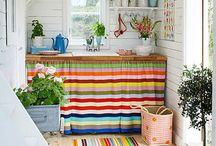 Fabrics in kitchen / Textilek a konyhában
