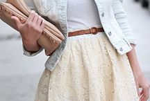 Cute clothes / Material worn on the body