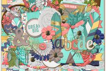 {Dream Big and Fly} Digital Scrapbook Kit by Wimpychompers Creations / http://store.gingerscraps.net/Dream-Big-and-Fly.html