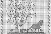 Cross stitch/ embroidery/ needlework