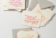Thank you notes & cards
