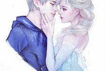 jack frost / jelsa