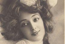 Anna Held (1872-1918) / wł. Helena Anna Feld, ur. w Warszawie, zm. w NY, amerykańska aktorka, tancerka