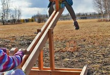 Outdoor play centers