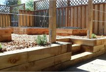 Juniper Raised Garden Beds / There are lots of ways to build long-lasting, beautiful raised beds out of Restoration Juniper lumber. Here are some ideas!