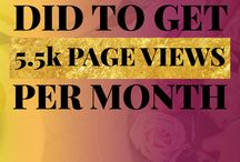 Get More Blog Traffic / How to get more traffic to your blog. Get more page views to your blog. Increase traffic to your website.