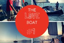 """The Love Boat / """"The Love Boat"""" is the wager of a young couple, Sarah and Sébastien, who left everything behind for a #transatlantic crossing #aboard a Sun Légende 41!"""