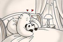 Oso polar y la pandita