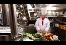 Chef de Partie on board river cruise ships / Impressions about working on board a river cruise ship as a Chef de Partie