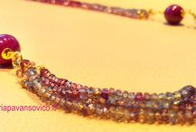 Natural stones / that's what we do with ruby shappire and emerald...  Do you like it?