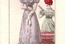 Fashion plates 1800-1830