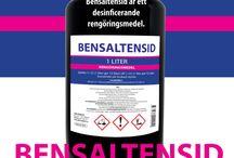 Bensaltensid - Bensalkonklorid / Bensaltensid är ett annat namn för bensalkonklorid. Bensaltensid i olika storlekar, från 1 liter och uppåt.