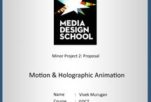 Motion Graphic & Holographic Animation / Here you can see my current Motion Graphic & Holographic Animation project details.