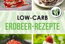 Low Carb Erdbeerrezepte