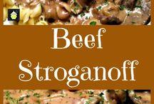 Biftek straganof