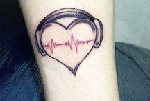 Tattoos / by Heather Bertram