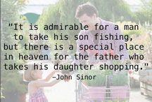 dad shopping