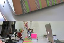 Washi tape ideas / Super things to make your room/house look amazing!!