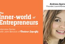 The Inner-World of Entrepreneurship / our interview series with leading entrepreneurs who reveal insider secrets for finding the right business idea, starting from scratch and overcoming self-doubt. Subscribe and access over 20 in-depth interviews