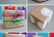 Inspiracje -Pakowanie prezentów