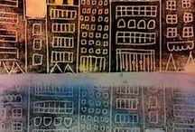 illustrations houses