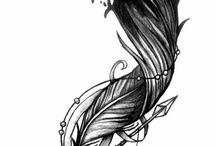 Tatuagens de penas