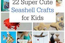 Kids beach crafts