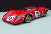 Model car in 1/12 scale